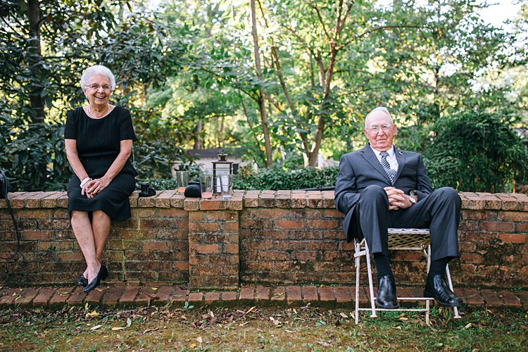 Family Guests Bohemian Outdoor Greenery Wedding Georgia http://www.sowingclover.com/