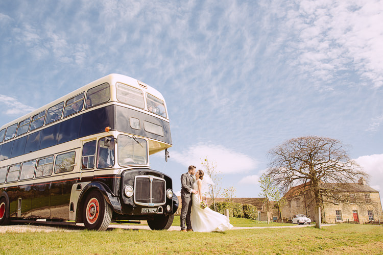 Vintage Bus Transport Romantic Soft Pastel Pretty Wedding http://hayleybaxterphotography.com/