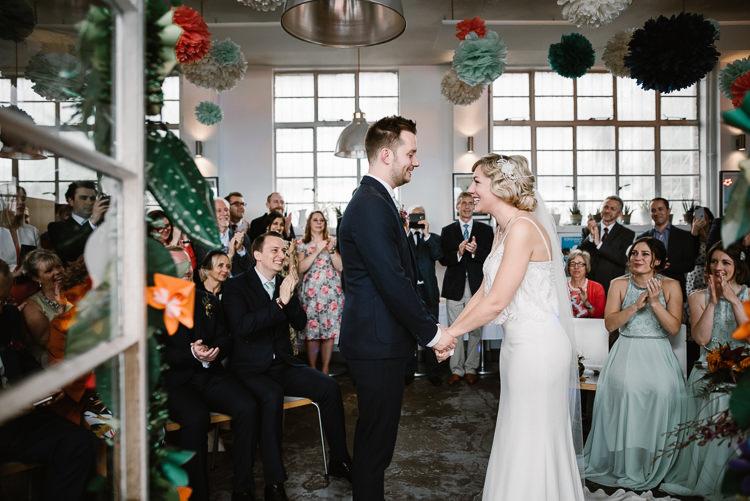 Laid Back Local London Lido Wedding http://andrewbrannanphotography.co.uk/