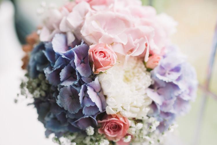 Blush Pink Wedding Flowers Bouquets Spray Rose http://www.catlaneweddings.com/