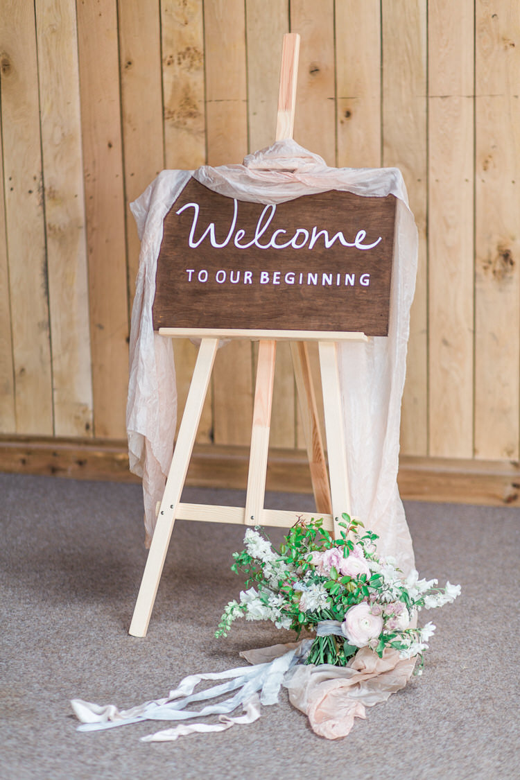 Rustic Wooden Sign Calligraphy Painted Welcome Ethereal Fine Art William Morris Wedding Ideas http://jessicadaviesphotography.co.uk/