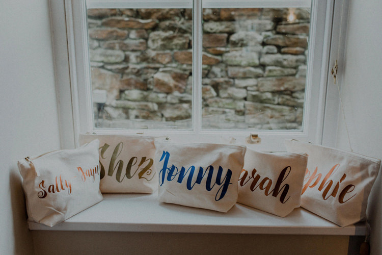 Bridesmaid Gifts Personalised Bags Dreamy Natural Boho Barn Wedding https://heychrisrandle.com/