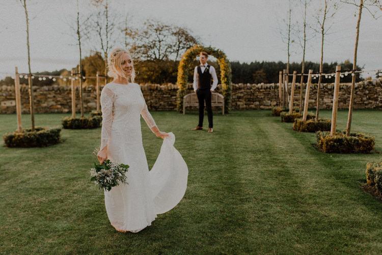 Grace Loves Lace Dress Gown Bride Bridal Dreamy Natural Boho Barn Wedding https://heychrisrandle.com/