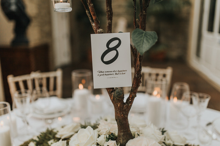 Table Numbers Natural Elegance Asian Fusion Wedding Ideas http://liannegrayphotography.com/