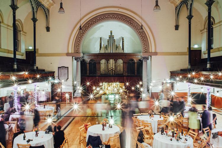 Lighting Hall London Festoons Gold Sequin City Party Wedding http://septemberpictures.com/