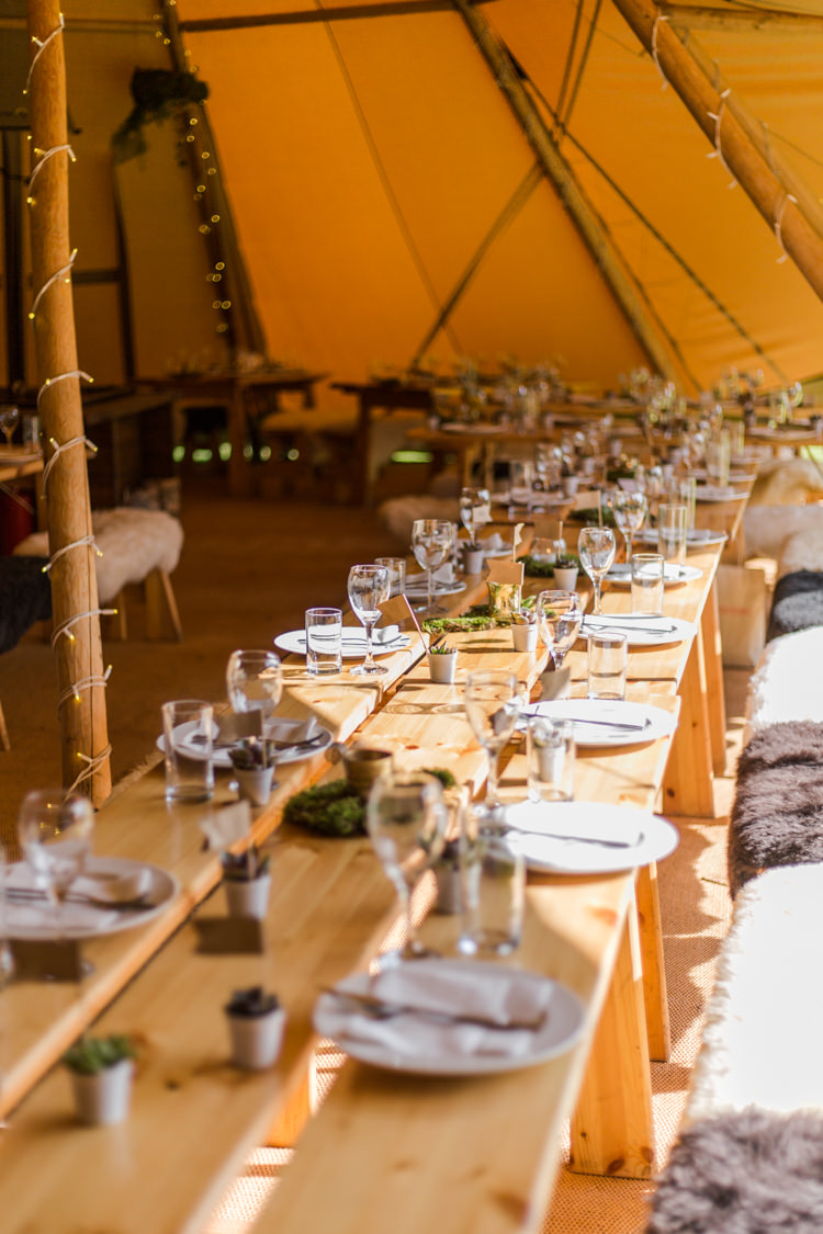 Natural Outdoor Tipi Wedding https://www.ad-photography.co.uk/