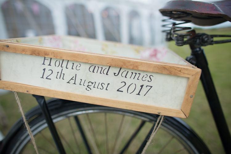 Bike Bicycle Vintage Decor Quirky Rustic Farm Wedding https://ragdollphotography.co.uk/
