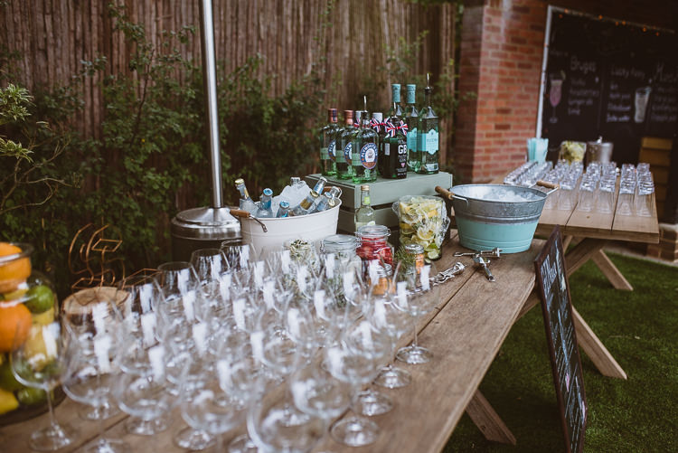 Cocktails Drinks Laid Back Summer Garden Party Wedding Stretch Tent http://joemallenphotography.co.uk/