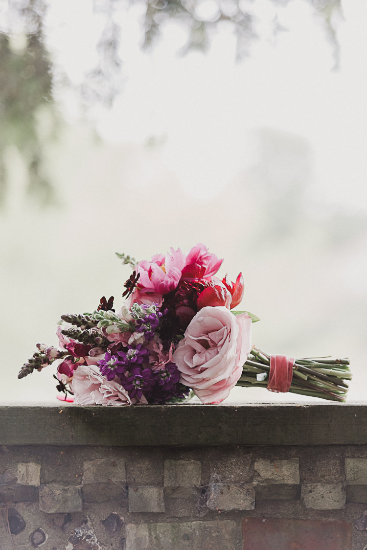 Bouquet Bride Bridal Pink Red Peony Rose Stylish Woodland Tipi Wedding Flower Arch https://willpatrickweddings.com/