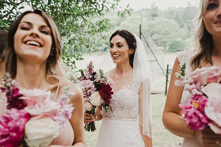 Bride Bridal Lace Dress Gown Stylish Woodland Tipi Wedding Flower Arch https://willpatrickweddings.com/