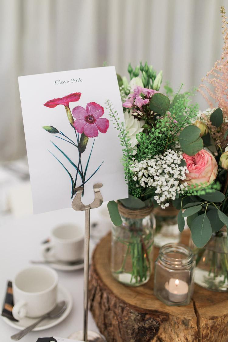 Flowers Table Names Simple Natural Honest Marquee Wedding https://www.gemmagiorgio.com/