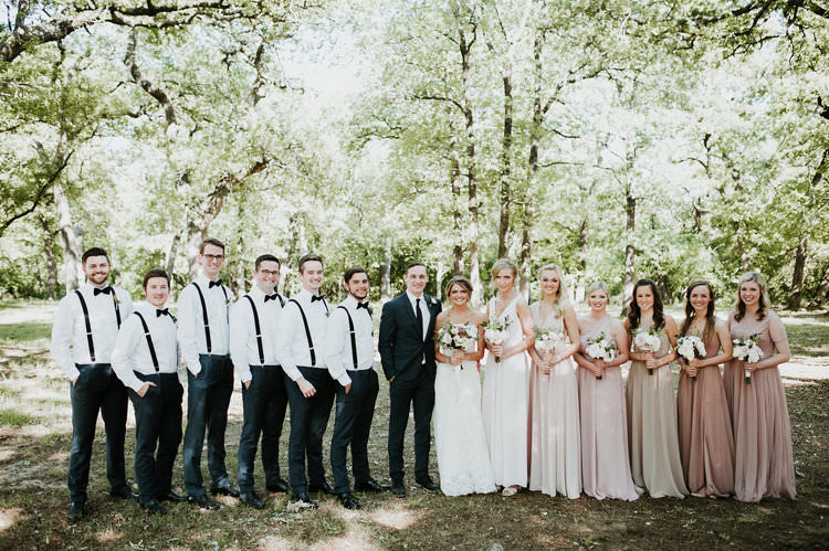 Outdoor Rustic Boho Forest Blush Bridesmaids Navy Groomsmen White Bouquets | Organic Earthy Fun Wedding Oklahoma http://zaynewilliams.com/