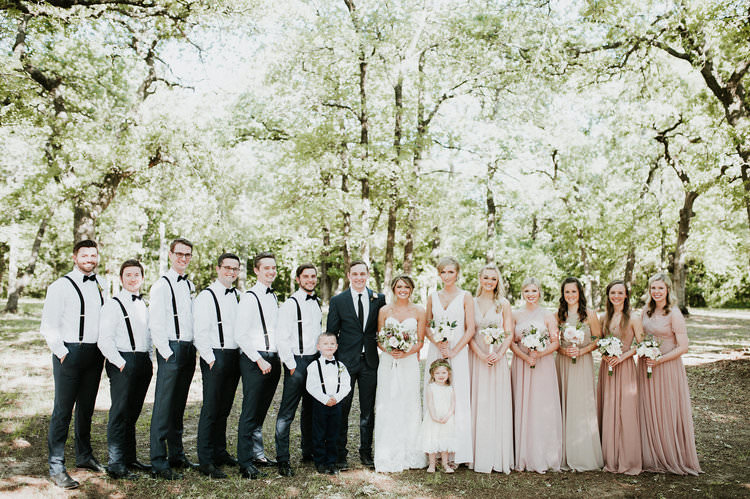 Outdoor Rustic Boho Forest Blush Bridesmaids Navy Groomsmen White Bouquets Boy Girl | Organic Earthy Fun Wedding Oklahoma http://zaynewilliams.com/