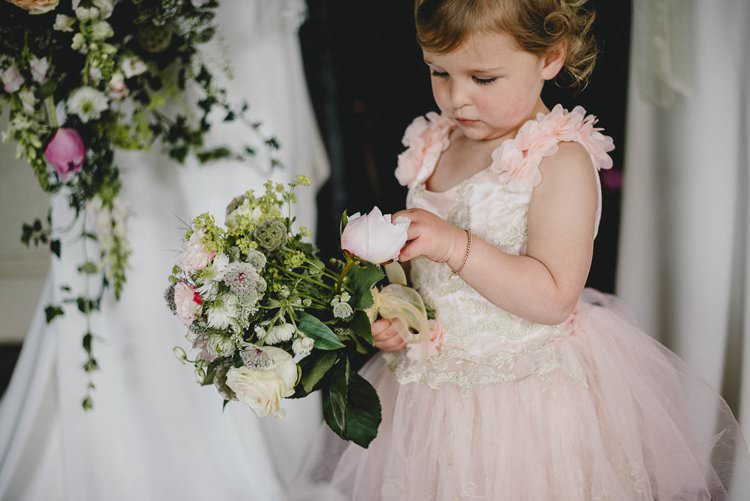 Flower Girl Romantic Luxe Wedding Ideas in the Country http://benjaminmathers.co.uk/