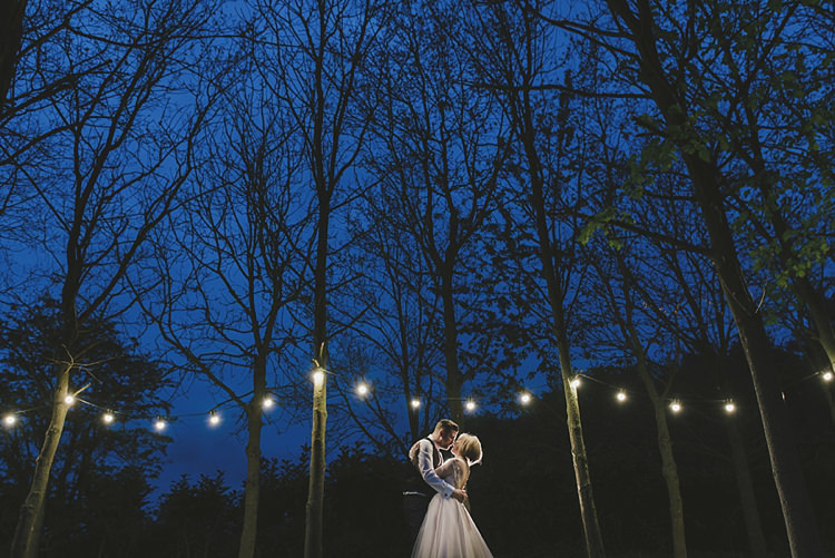 Festoon Lights Untraditional Pretty Travel Barn Wedding https://www.georgimabee.com/
