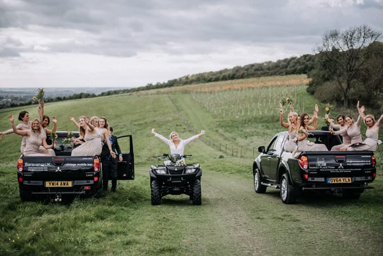 Transport Quad Bike Trucks Rustic Peaky Blinders Vineyard Wedding Yorkshire https://www.kazooieloki.co.uk/