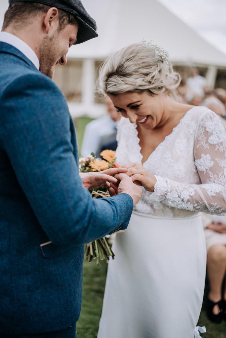 Bride Bridal Style Dress Gown Hair Braids Plaits Rustic Peaky Blinders Vineyard Wedding Yorkshire https://www.kazooieloki.co.uk/
