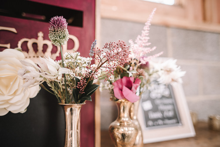 Flowers Decor Luxe Rustic Autumn Berry Wedding http://www.oobaloosphotography.co.uk/