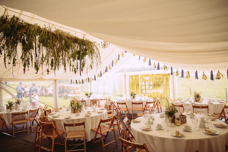 Marquee Gorgeous Gold Navy Wow Factor Wedding http://hayleybaxterphotography.com/