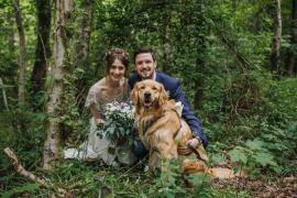 Happy DIY Woodland Wedding http://www.elliegracephotography.co.uk/