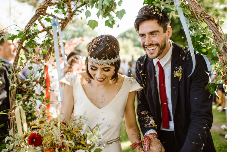 Confetti Throw Vegan Handfasting Summer Garden Party Wedding https://www.elliegillard.co.uk/