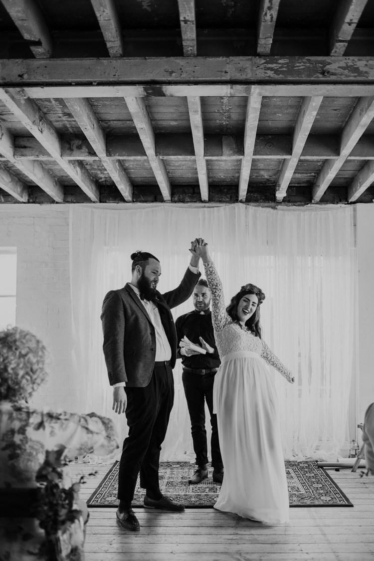 Alternative London Warehouse Wedding https://www.lukehayden.co.uk/