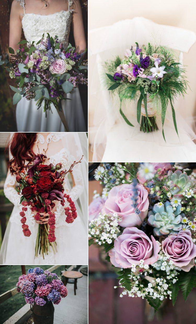 Ultra Violet Wedding Flower Trends 2018