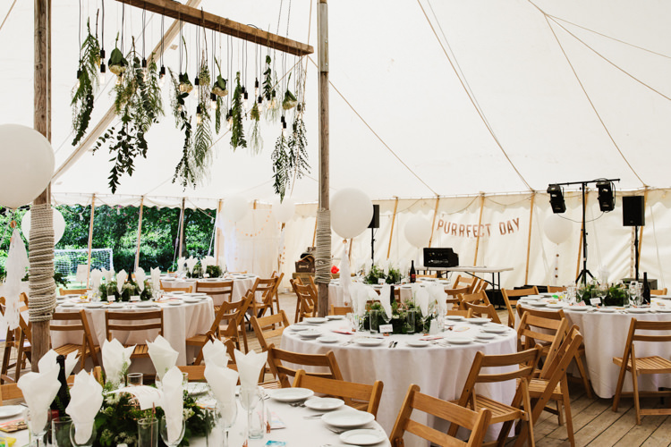 Marquee Greenery Hanging Installation Decoration Balloons Fun Town Hall Countryside Gardens Cat Wedding http://www.allymphotography.com/