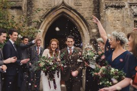 Joyful Warm Cosy Autumn Barn Wedding http://www.rebeccadouglas.co.uk/