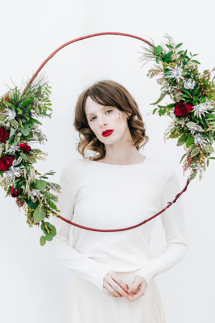 Red Green Winter Wonderland Wedding Ideas http://www.angelawardbrown.com/