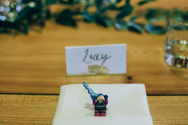 Lego Favours Flowery Bohemian Secret Garden Wedding https://caseyavenue.co.uk/