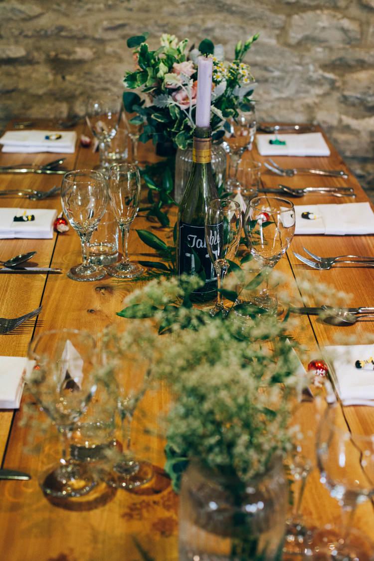 Greenery Table Decor Flowery Bohemian Secret Garden Wedding https://caseyavenue.co.uk/