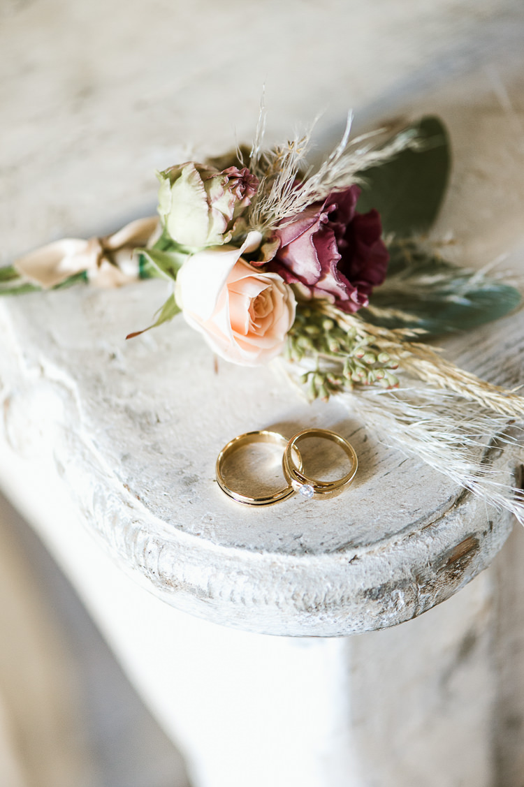 Gold Rings Bands Trendy Beautiful French Elopement Wedding Ideas http://oliviamarocco.com/