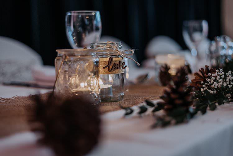 Tea Lights Candles Decor Twinkly Rustic Winter Wonderland Wedding https://www.kazooieloki.co.uk/