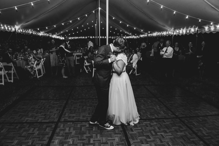 Outdoor Field Forest Wild Nature Marquee Tipi Bride Groom First Dance | Breathtaking Secluded Back Garden Open Sided Tent Wedding Vermont https://kickasscouples.com/