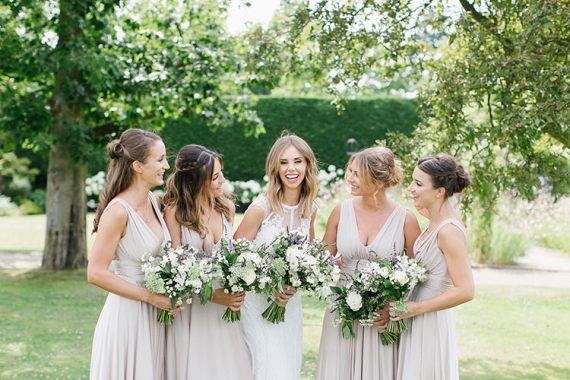 Understated Elegance Greenery Natural Wedding Gaynes Park Essex http://ilariapetrucci.co.uk/