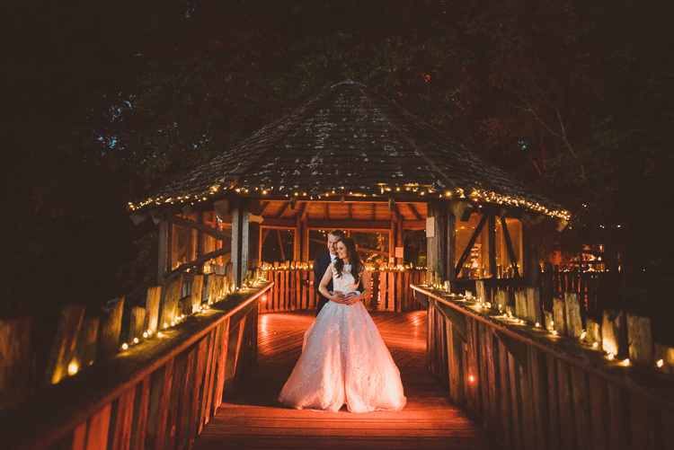 Fairy Lights Rustic Relaxed Woodsy Alnwick Treehouse Northumberland Wedding http://www.mattpenberthy.com/