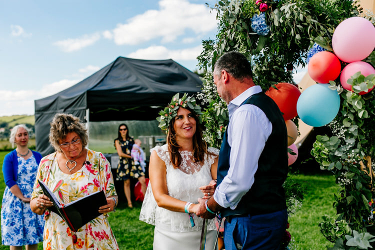 Bright Fun Festival Boho Wedding The Party Field East Sussex http://epiclovestory.co.uk/