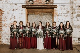 Bohemian Industrial Oxblood Wedding https://www.lunaleephotos.com/