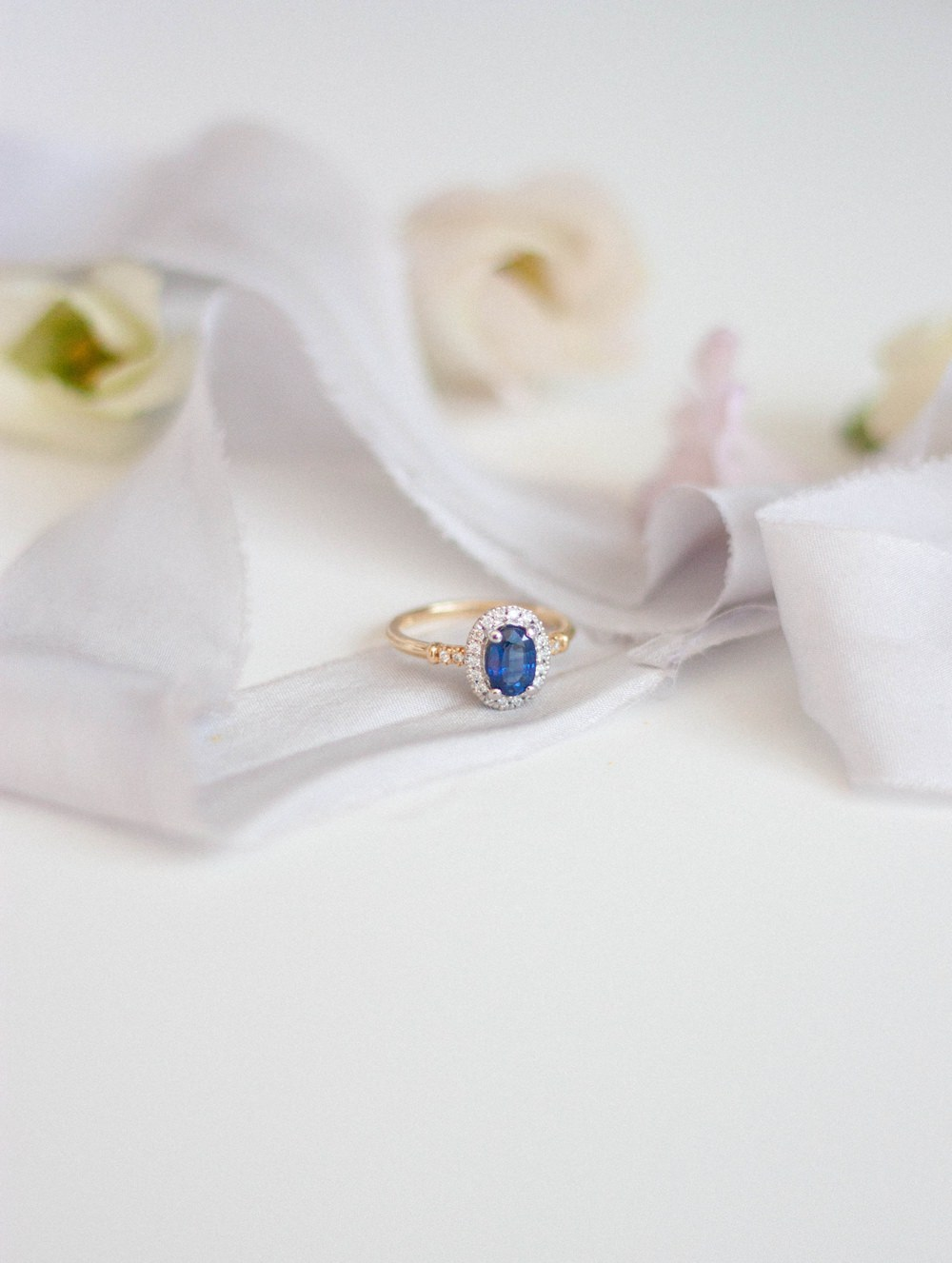 Alternative Engagement Rings Coloured Gem Wedding