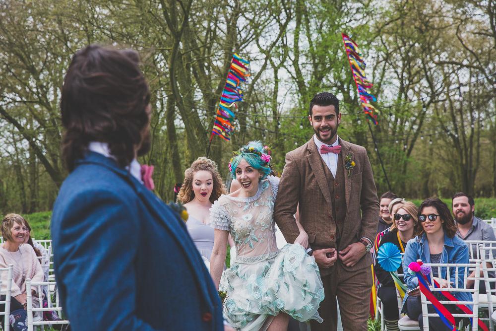 Rainbow Alternative Woodland Wedding Ideas Nicki Shea Photography