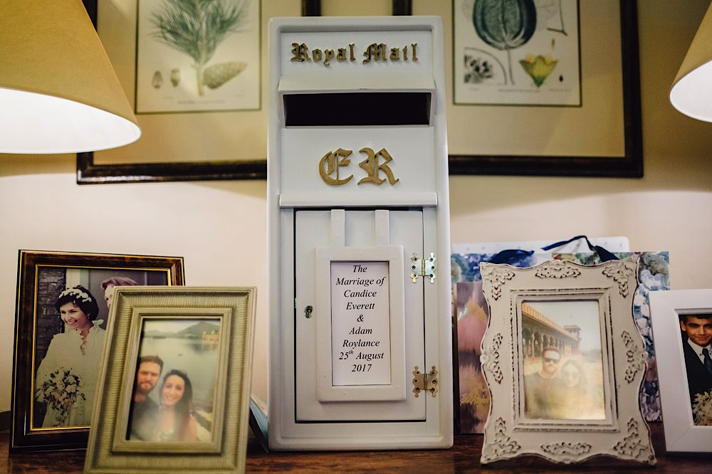 Post Box Cards Great Fosters Wedding Roo Stain Photography