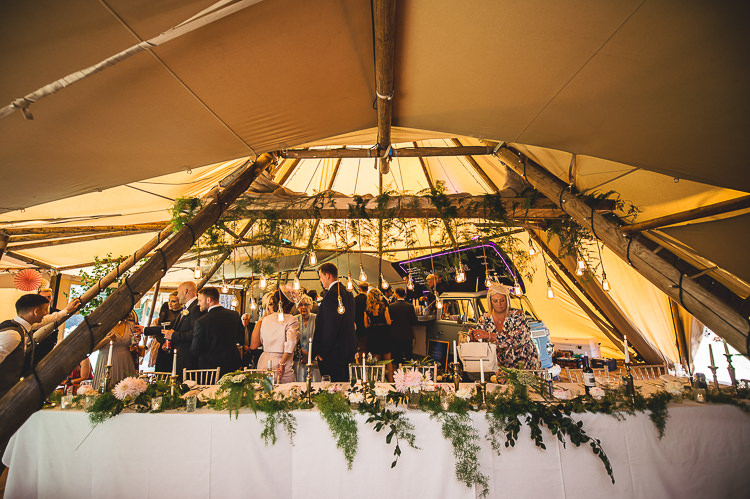 Tipi Garden Wedding Wedding Foxley Photography