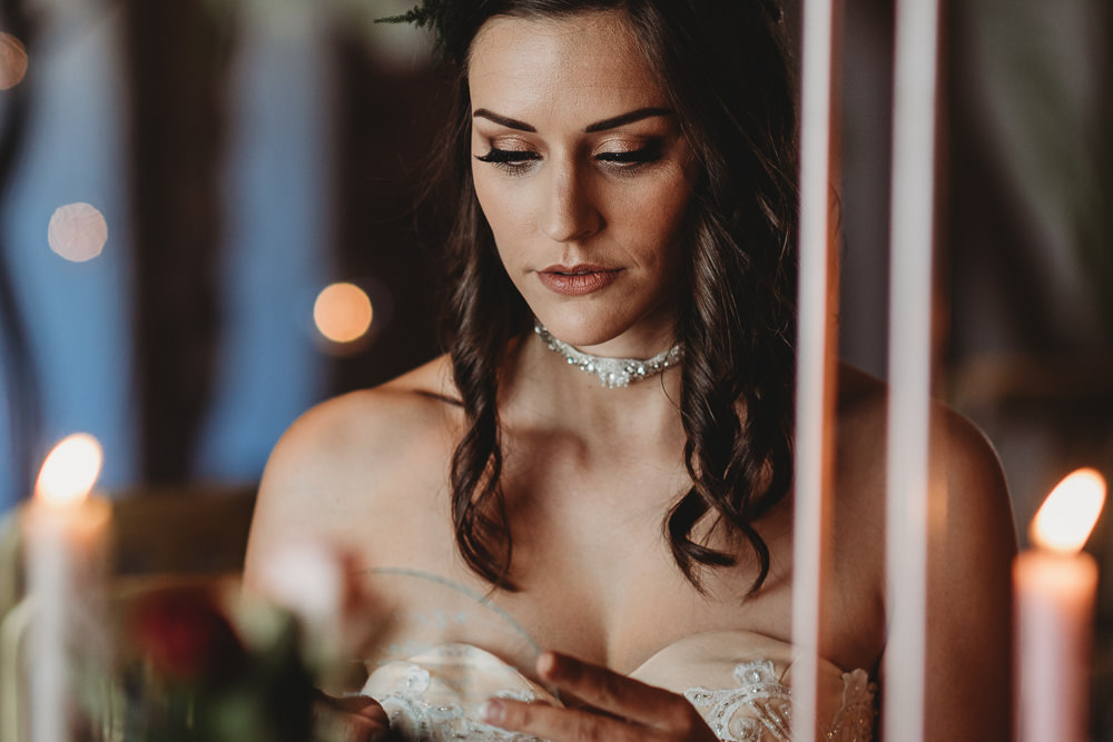 Bride Bridal Make Up Barn Wedding Ideas Thyme Lane Photography