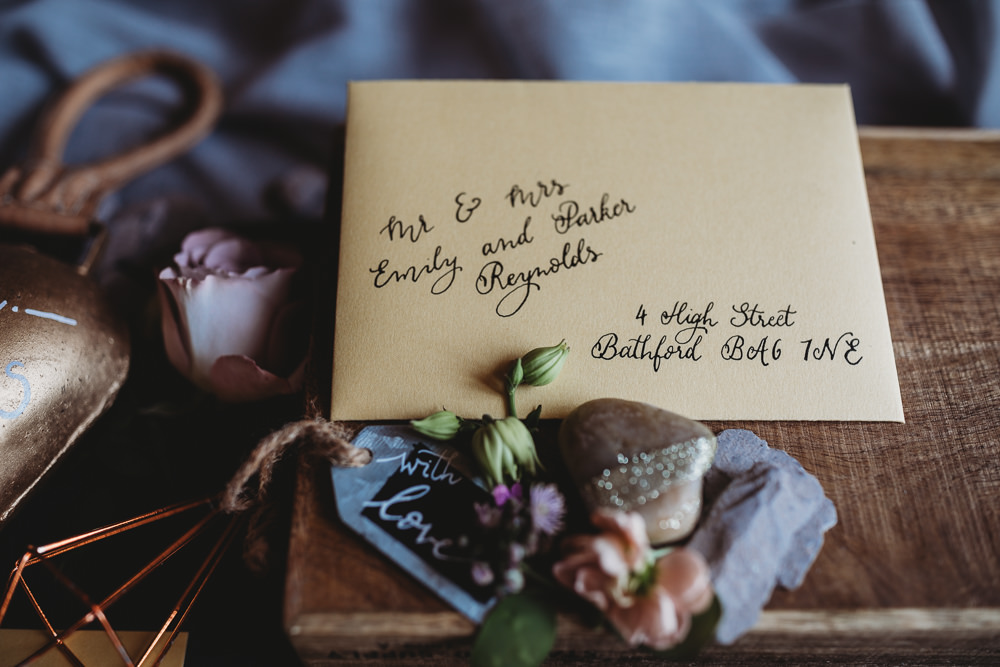 Calligraphy Stationery Invitation Invites Envelope Barn Wedding Ideas Thyme Lane Photography