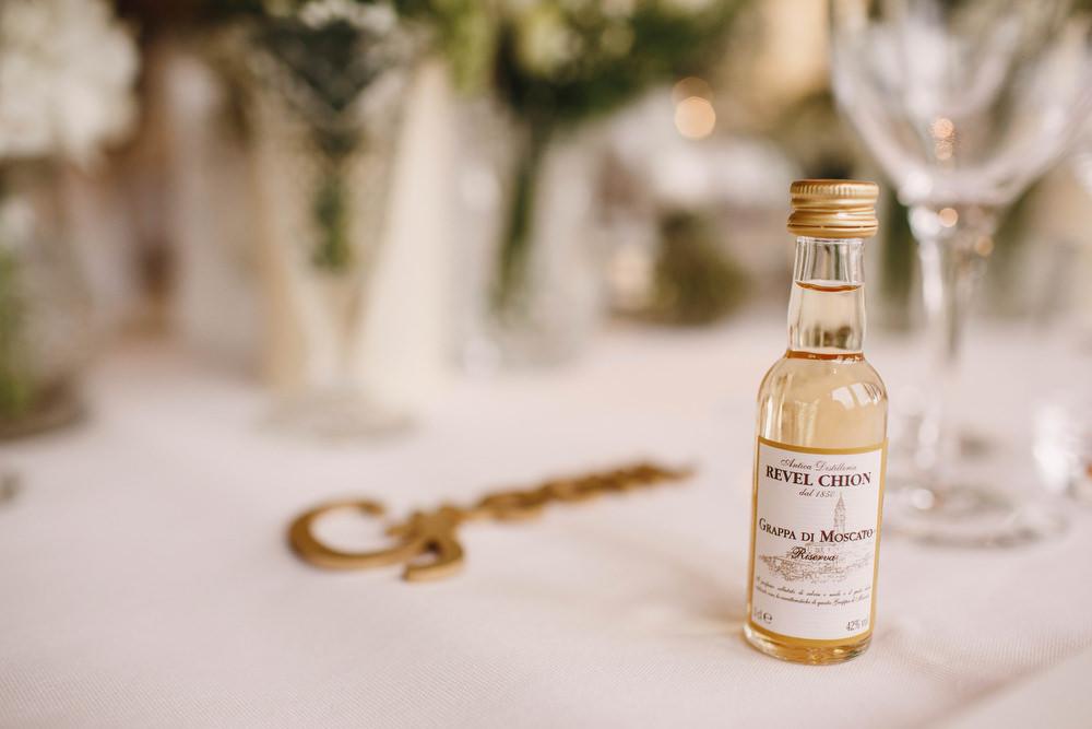 Cotswolds Royal Castle Summer Autumn Traditional Classic Elegant Simple White Decor Wine Favour   Sudeley Castle Wedding ARJ Photography