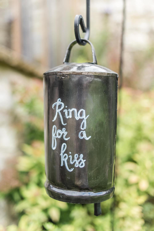 Ring Bell Kiss Tythe Barn Priston Mill Wedding Eleanor Jane Photography