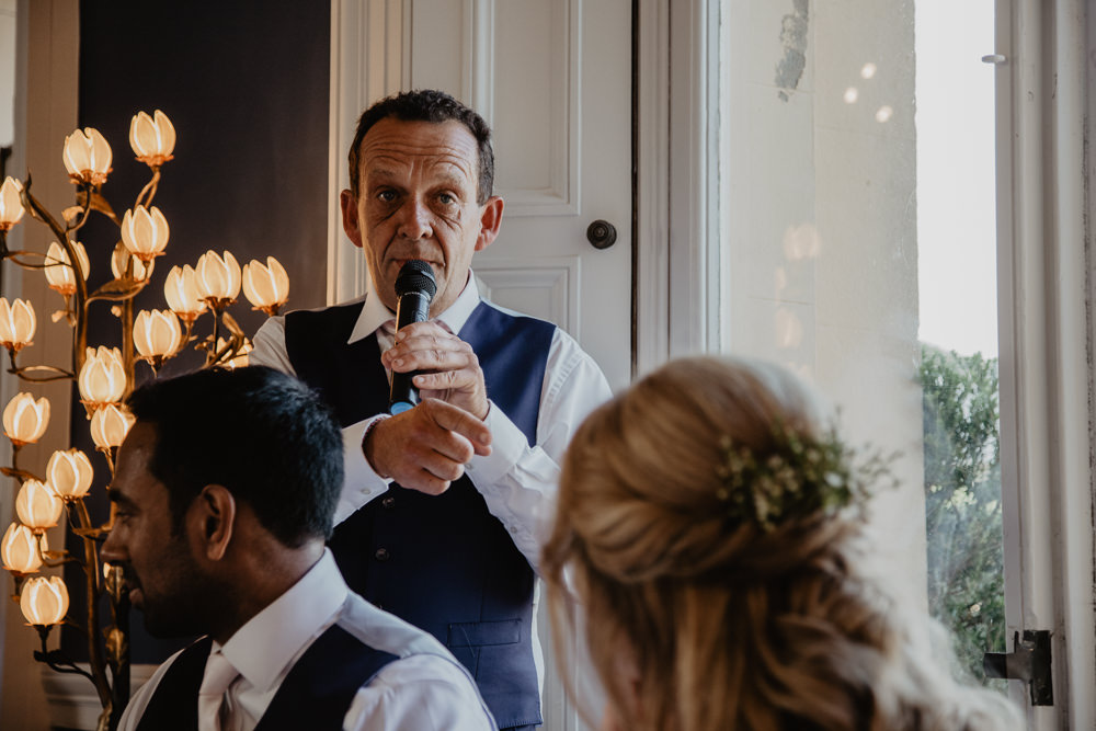 Osborne House Isle of Wight Natural Classic Wedding Breakfast Speeches Toasts Bride Groom | Timeless Royal Inspired Seaside Wedding Holly Cade Photography