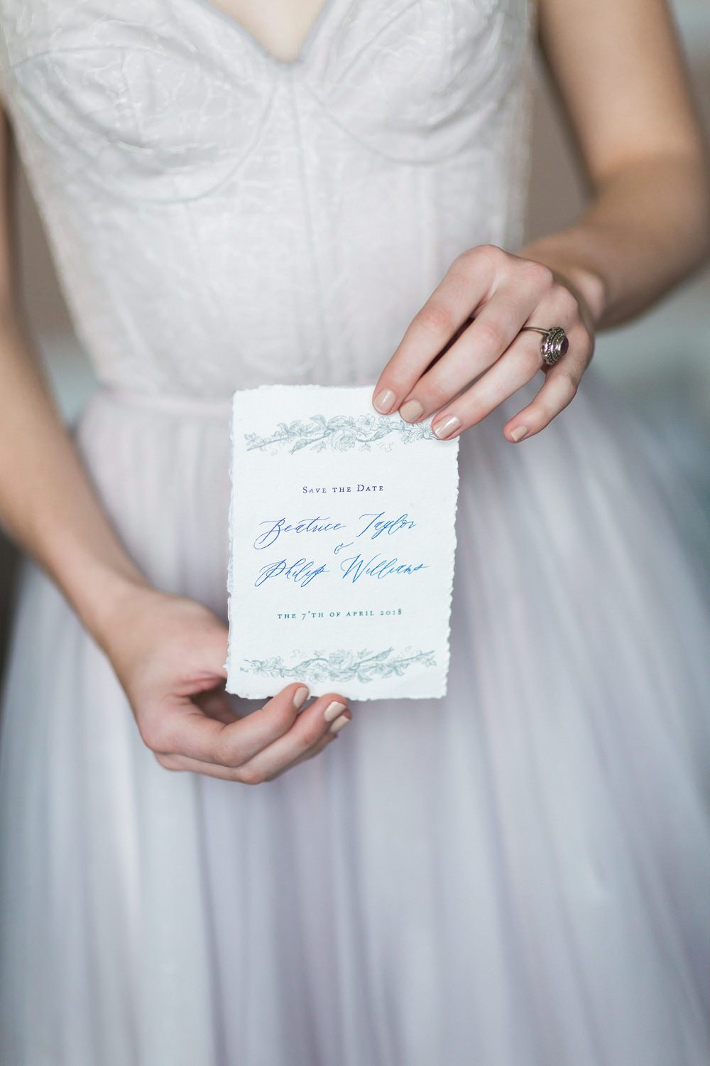 Modern Ballet Inspired Editorial Fine Art Somerley House Bride Lilac Dress Naomi Neoh Amethyst Ring Stationery Calligraphy Save The Date | Romantic Soft Wedding Ideas Siobhan H Photography