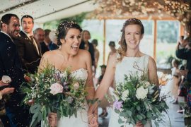 Wild Rustic Glam Sea Wedding Mr and Mrs Wedding Photography